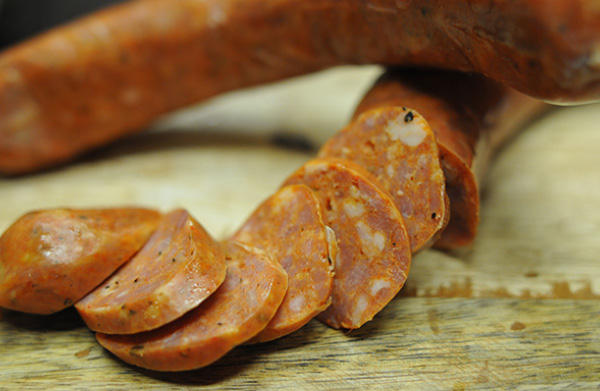 smoked sausage charcuterie The Grand Fromage Skippack